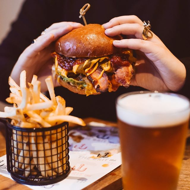 Our smashed wagyu burger is back and so are we